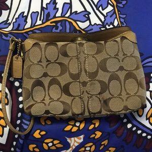 Coach wristlet/ handbag